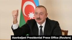 الهام علییف رئیس جمهور آذربایجان
