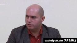 Председатель комиссии по внешним связям Национального собрания Армении Армен Ашотян, Ереван, 29 ноября 2017 г.
