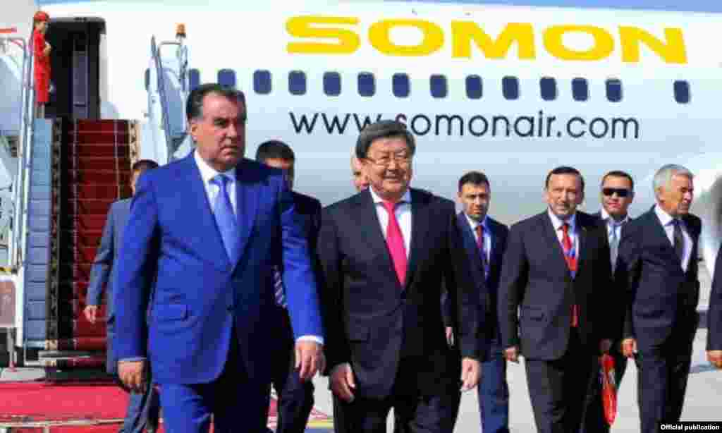 Президент Таджикистана Рахмон