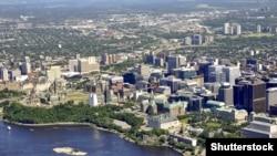 Pamje nga kryeqyteti Otava në Kanada
