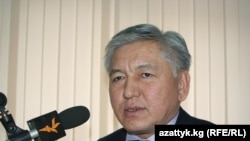 Bishkek Mayor Isa Omurkulov