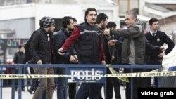 Стрельба на площади Таксим в Стамбуле, фото Daily Sabah
