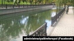 Река Салгир. архивное фото