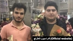 Parham Maghsoodloo and Amin Amin Tabatabaei, two Iranian chase players. FILE PHOTO