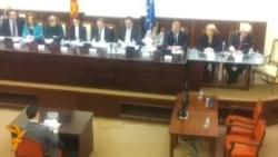 Расправа во Собрание за притвор, медиуми и протести