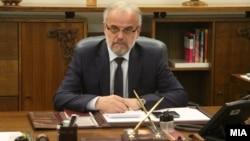 Архива: Претседателот на Собранието на Република Македонија Талат Џафери.