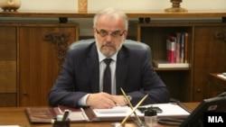Спікер парламенту Македонії Талат Джафері