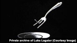 Karikatura Luke Lagatora za koju je dobio nagradu Pjer 1998. godine