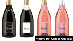 A company called Vintorg acquired the rights to distribute and market Soviet Champagne within Russia -- and announced it would relabel it with a prominent reference to 1937.