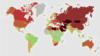 Türkmenistan 'iň zäherli howaly' ýurtlaryň biri