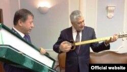 Вазирони дохилаи Тоҷикистону Русия
