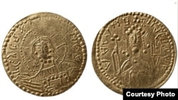 Златник, первая золотая монета русской чеканки