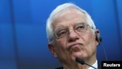 високиот претставник за надворешни работи на ЕУ Жозеп Борел