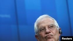 Șeful diplomației europene, Josep Borell (foto arhivă)