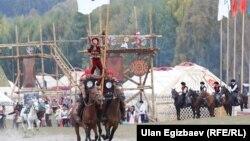 Көчмөн оюндары кыргызды кыйырга таанытты