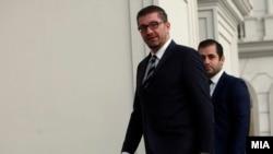 Новоизбраниот претедател на ВМРО-ДПМНЕ Христијан Мицкоски