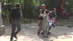 В результате взрывов в Афганистане погибли журналисты (видео)