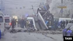 Волгоградта троллейбуста болған жарылыс. 30 желтоқсан 2013 жыл.