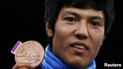 Afghanistan's Rohullah Nekpa won a bronze medal in the 68-kilogram category at both the Beijing and London Olympic Games.