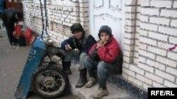 Бачаҳои аробакаши тоҷик