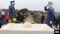 Одбележување на осумгодишнината од смртта на претседателот Борис Трајковски во БиХ на 26 февруари 2012 година.