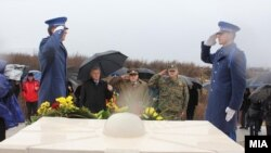 Obeležavanje godišnjice smrti Borisa Tajkovskog i makedonske delegacije, BiH, 26. februar 2012.