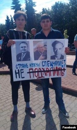 Егор Чернюк (слева)