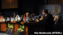 Під час саміту Ліги арабських держав, 28 березня 2015 року