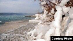 Архивска фотографија: Снег во Далмација