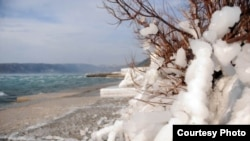 Snijeg u Dalmaciji, foto: Roni BRMALJ, Novi list