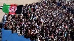استقبال هزاران تن از بازی کرکت در قندهار