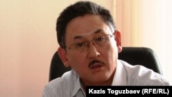 Главный редактор газеты Central Asia Monitor и директор сайта Radiotochka Бигельды Габдуллин.
