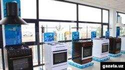 Газовые плиты, произведенные узбекским предприятием Roison.