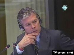 Svjedok Ewan Braun na suđenju Radovanu Karadžiću, 23. studenog 2011.