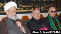 الشيخ ضياء الدين زين الدين يرحب بوفد الفاتيكان الذي يزور النجف