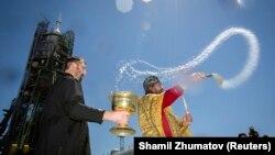 Православна богослужба во Казахстан.