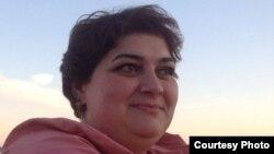 Azerbaijan--Investigative journalist and RFE/RL contributor Khadija Ismayilova.