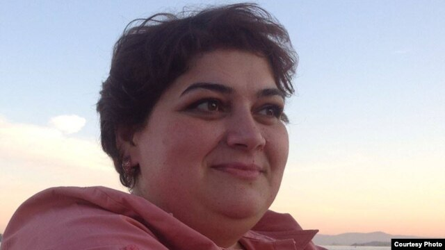 RFE/RL Azerbaijani Service journalist Khadija Ismayilova (file photo)