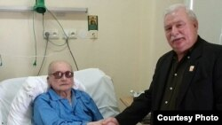 Former Solidarity leader Lech Walesa visited Jaruzelski in his hospital bed in September 2011 in a memorable feat of forgiveness.