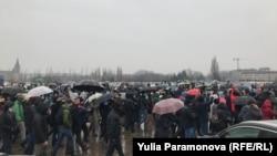 Акция в поддержку Навального в Калининграде