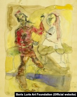 Картина Бориса Лурье