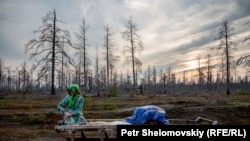 PHOTOGALLERY: In Siberia, Oil Companies And Reindeer Herders Fight For Rights To Land
