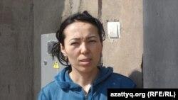 «Солтүстік саяжай» шағынауданы тұрғыны Замира Исмаилова. Шымкент, 26 наурыз 2014 жыл.