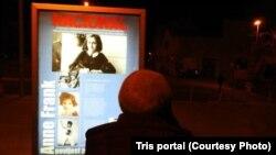 Šest panela povučenih sa izložbe o Ani Frank u jednoj šibenskoj srednjoj školi osvanuli su na ulicama grada