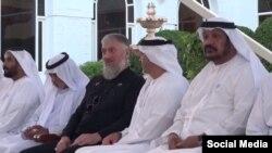 Депутат Госдумы от Чечни Адам Делимханов во время визита в ОАЭ