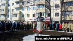 Памятник Рихарду Зорге, открытый во Владивостоке 7 ноября 2019 года