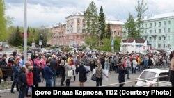 Митинг в Северске