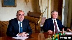 Հայաստանի և Ադրբեջանի արտգործնախարարների հանդիպումներից մեկը, արխիվ
