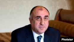 Ադրբեջանի արտաքին գործերի նախարար Էլմար Մամեդյարովը, արխիվ: