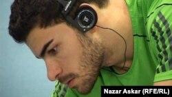 أمير شاكر عنيد رياضي عراقي مقيم في السويد